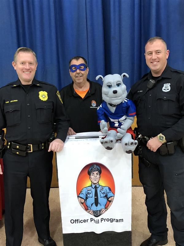 Officer Phil Program at Chester Elementary School