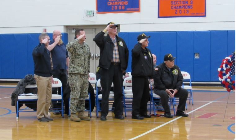 Veterans Day Ceremony at Chester Academy
