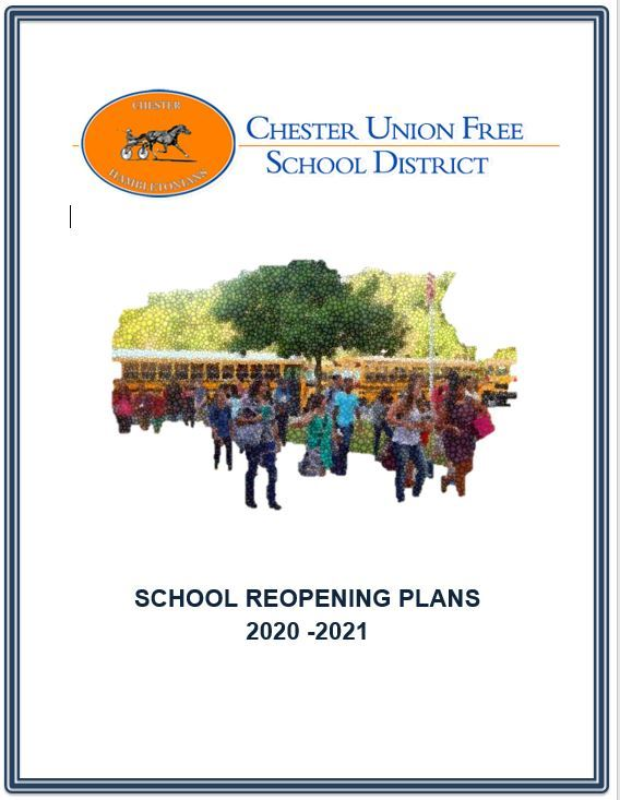 CLICK HERE for Chester UFSD School Reopening Plans Including Remote Learning, Testing, and Contact Tracing Extracts