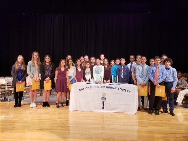 National Junior Honor Society Induction 2018